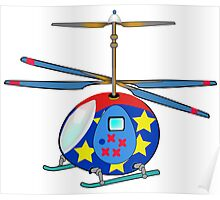 Mikie the Helicopter Poster