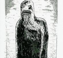 Wendigo Psychosis - original artwork by Emurrrz