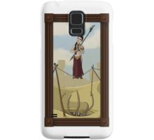 Princess Leia on the Wire Samsung Galaxy Case/Skin