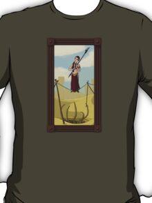 Princess Leia on the Wire T-Shirt