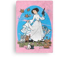 The Princess Canvas Print