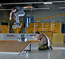 Backside Kickflip by apyke