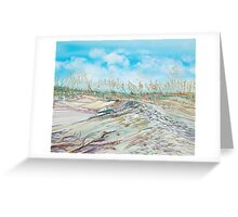 On the Dune Greeting Card