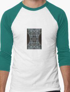The Hitchcock Fractal Men's Baseball ¾ T-Shirt
