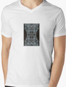 The Hitchcock Fractal Mens V-Neck T-Shirt
