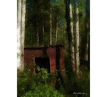 Shanty in the Shadows Photographic Print