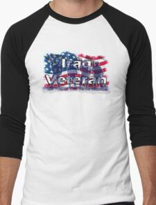 Iraq Veteran Men's Baseball ¾ T-Shirt