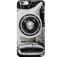 Feel the Thunder in Black and White iPhone Case/Skin