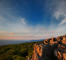 Sunset from Skyline  by DJBPhoto