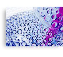 Water Drops Canvas Print