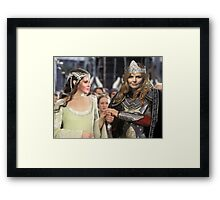 Swan Queen Lord of The Rings Framed Print