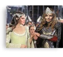Swan Queen Lord of The Rings Canvas Print