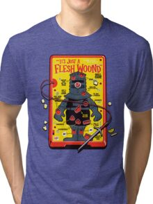 "The ""It's Just A Flesh Wound"" Game Tri-blend T-Shirt"