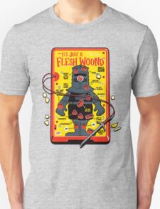 """The """"It's Just A Flesh Wound"""" Game Unisex T-Shirt"""