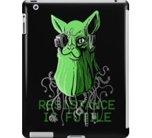 Resistance is Futile iPad Case/Skin