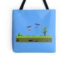Duck Hunt! Pew! Pew! Tote Bag
