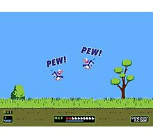 Duck Hunt! Pew! Pew! Photographic Print