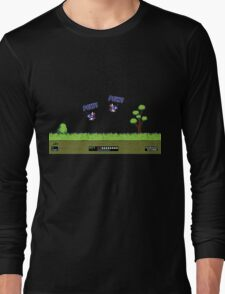 Duck Hunt! Pew! Pew! Long Sleeve T-Shirt