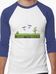 Duck Hunt! Pew! Pew! Men's Baseball ¾ T-Shirt