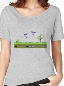 Duck Hunt! Pew! Pew! Women's Relaxed Fit T-Shirt