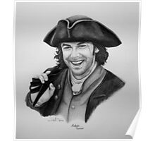Aidan Turner as Ross Poldark - Portrait Poster