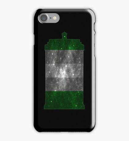 Grayromantic Pride Police Box iPhone Case/Skin
