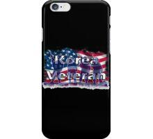Korea Vetreran iPhone Case/Skin