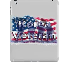 Korea Vetreran iPad Case/Skin