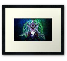Yu-Gi-Oh! - Arcanite Magician Framed Print