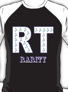 Initials Rarity - Black T-Shirt