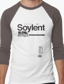Contents: Unprocessed Soylent Green (on Green) Men's Baseball ¾ T-Shirt