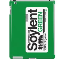 Contents: Unprocessed Soylent Green (on Green) iPad Case/Skin
