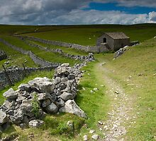 Malham Moor Barn by Andrew Leighton