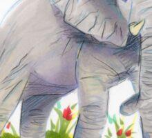 Elephant Pal Sticker