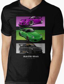 The Three Masterpiece Mens V-Neck T-Shirt