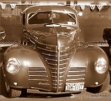 Classic 40s Coupe in Sepia by Debbie Robbins