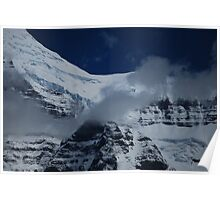 July Snow - Mt. Robson Poster