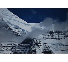 July Snow - Mt. Robson Photographic Print