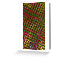 Coloured Crystal Greeting Card