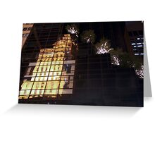 Reflecting on 5th Avenue Greeting Card