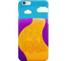 Yellow brick road iPhone Case/Skin