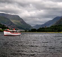 The Snowdon Star Steamer by Simon Pattinson