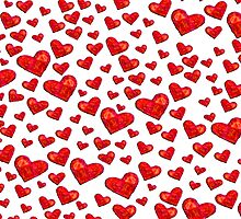 Hearts Motif by gretzky