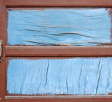 coarse old wood painted by Josep M Penalver