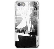 Semi Tone Metaphysical Man in F. iPhone Case/Skin