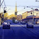 Church Street, Richmond, Victoria by Joe Cartwright