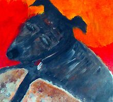 RALF THE DOG by Kim  Magee