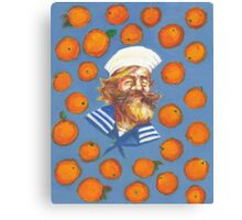 Gangplank LOVES oranges ! Canvas Print