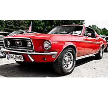 Ford Mustang Dreams Photographic Print