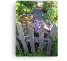 peaceful place front yard Canvas Print